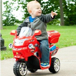 $39.99 (原价$199.99 )Lil' Rider 3轮电动骑行小车一日特卖 拉风好帅气