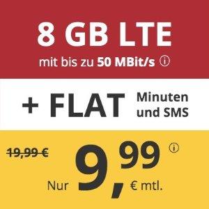 月租€9.99 代号入网送€6.82