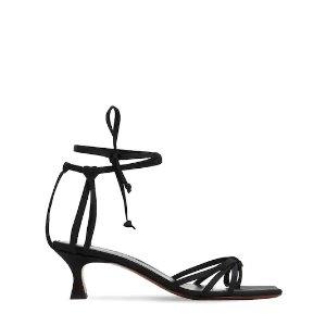 Manu Atelier满€300立享9折;满€500立享8.8折系带高跟鞋