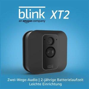 7.5折 单个仅需€87.72Blink XT2 室内外通用无线智能安全摄像头 免费云储存+2年续航