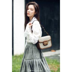 宋妍霏同款蕾丝衬衫