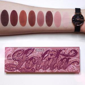 $55(新人享9折)哑光玫瑰色上新:Kat Von D 限量版Lolita眼影盘 经典畅销