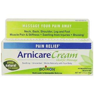 Boiron Arnica Cream for Pain Relief, 2.5 Ounces