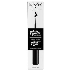 NYX Professional Makeup 亚光黑色眼线