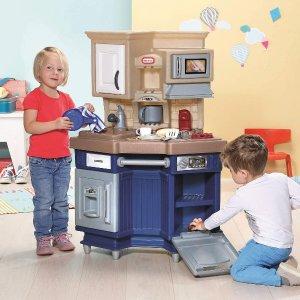 $89.97(原价$116.99)Little Tikes 小泰克 超级厨师 厨房玩具套组 扮家家酒必备