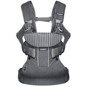 $99.99起BABYBJORN 旗舰款婴儿背带可后背式宝宝背带