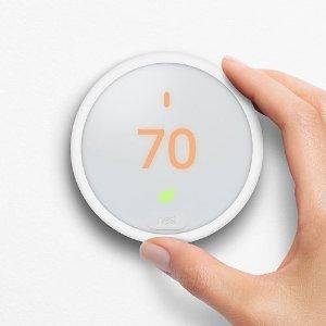 $139Nest Learning Thermostat E + Google Home Mini