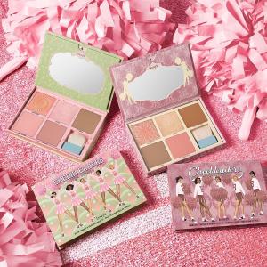 8折+任选礼品 仅售£41 全正装容量上新:Benefit 19年限定Cheekleaders Pink Squad彩妆盘