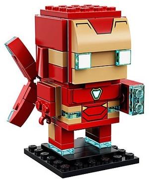 升级版钢铁侠MK50 来啦乐高LEGO家族 BrickHeadz方头仔系列新成员
