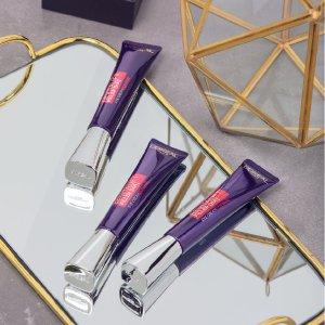 到手¥149/件+包税免邮中国L'ORéAL 欧莱雅紫熨斗眼霜 30ml 3件装