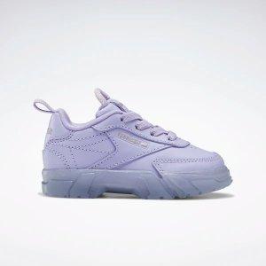 Reebok19.5-26.5码!Cardi B Club C 幼童鞋