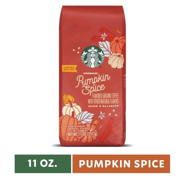 中度烘焙咖啡粉 南瓜香料口味 11Oz