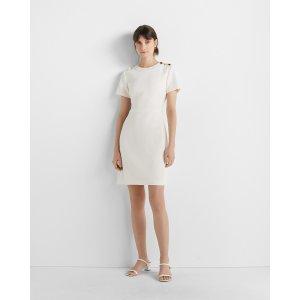 Club MonacoButton Shoulder Dress