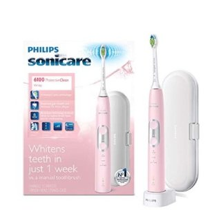 $99.97Philips Sonicare ProtectiveClean 6100 Whitening Rechargeable electric toothbrush