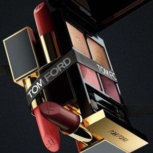 低至78折 €21收白金白管口红Tom Ford全线彩妆香水 粉条、四色眼影、口红好价入
