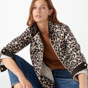 J.CrewBarn Jacket™ in leopard