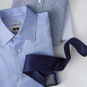 Buy one get one freeMan's Dress Shirts @ Men's Wearhouse