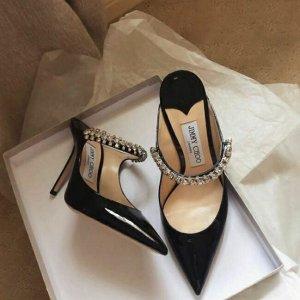 4.5折起+免费退货 雾霾粉单鞋$249Jimmy Choo 美鞋大促 好价收新款钻石鞋、绝美渐变高跟鞋