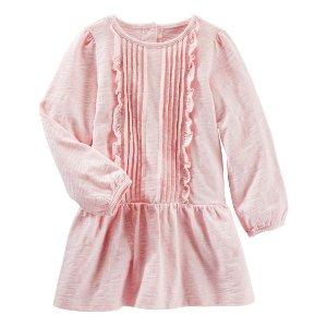 Carter's OshKosh Canada粉色长袖公主裙