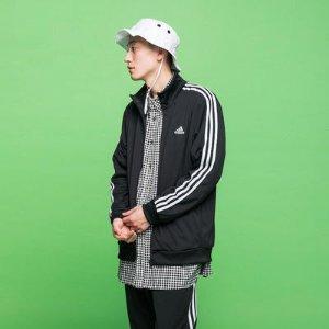 6折 $48(原价$80)手慢无:Adidas 男士Tiro17 冬季条纹夹克