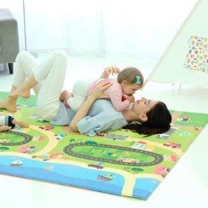 4折 需Macys App购买比黑五低:BABYCARE 宝宝爬行垫厚款特卖