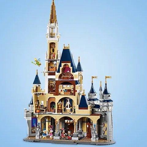 Back Ordr! $349.99Disney Castle Playset by LEGO – Limited Release