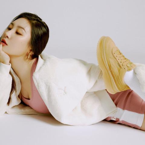 5折起! 新配色超美李宣美等超多韩国女星爱到不行的这双Puma竟然是它