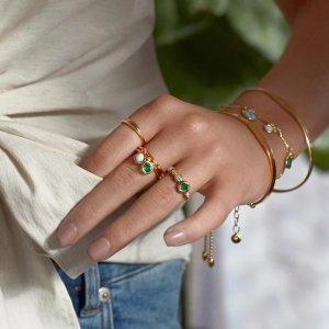 Monica Vinader幸运石戒指
