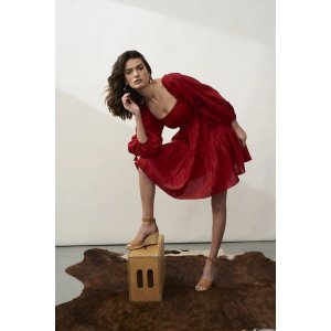 Sachin + BabiLola Dress - Poppy Red