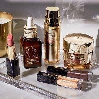 满$100送白金3件套好礼Estee Lauder 美容护肤产品热卖 入小棕瓶