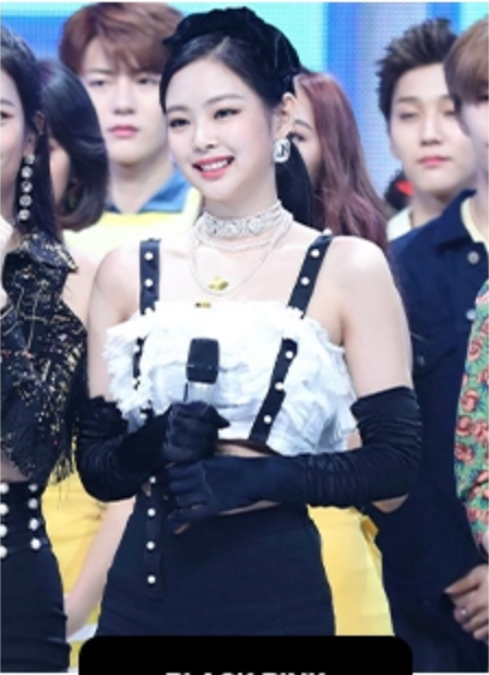 Jennie同款耳钉