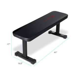 $49.99(原价$54.99)Marcy Flat Utility 家用健身训练椅