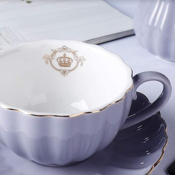 Amazingware 超美陶瓷茶杯组6件套