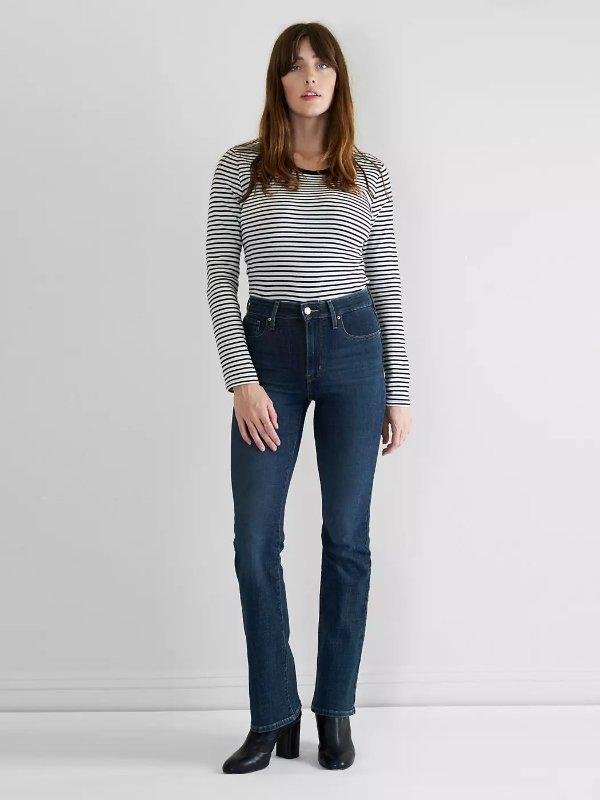 725 高腰牛仔裤
