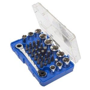 $9.98Kobalt 标准机械单向螺母扳手套装 35件超值装