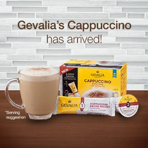 $36.59 + Free ShippingGevalia Cappuccino Keurig K Cup Pods with Froth Packets (36 Count)