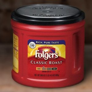 $5.99Folgers  经典咖啡 中度烘焙 30.5oz