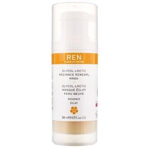 REN Clean Skincare果酸面膜