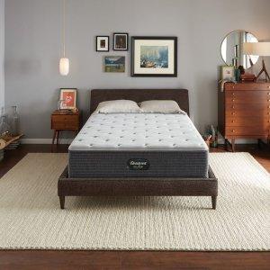 最高立减$326 King只要$599Simmons 席梦思Beautyrest 睡美人银标12寸硬床垫