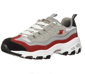 $20.45起 (原价$65)Skechers D'Lites-Sure 女款熊猫鞋 灰色