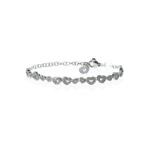 Coupon code DMPBE269918K White Gold Diamond And Sapphire Bracelet 12486B
