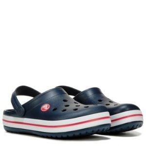 Crocs第二件半价 变相7.5折男童洞洞鞋