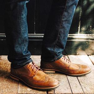 5折优惠 + 限时免运费Rockport 经典男士商务皮鞋、牛津鞋 $65起