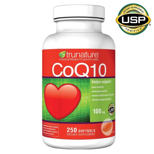 辅酶Q10 100 mg 250粒软胶囊