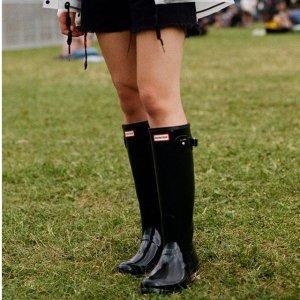 低至5折+免邮Hunter 精选雨靴、服饰、背包等热卖