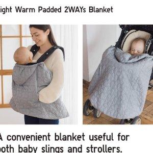 收封面便携多用婴儿保暖毯UNIQLO 婴儿及幼童服饰再降价 低至$3.9起