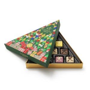 $12.84 (原价$18.34 )再降:Godiva 经典巧克力礼盒 10颗装