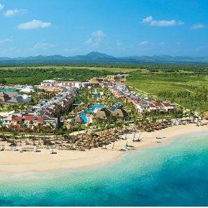 $129起 吃喝玩乐一价全包多米尼加蓬塔卡娜 5星级海滨全包度假村
