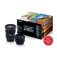 Canon  EF 17-40mm f/4L + EF 50mm f/1.4  镜头套装
