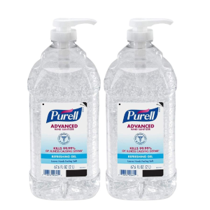 PURELL Advanced Hand Sanitizer, Refreshing Gel, 2 Liter